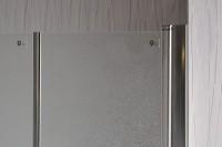 Sprchové dveře do niky SALOON 90 Grape