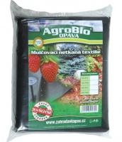 Černá netkaná textilie 1.6x10m Agrobio