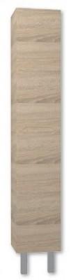 Skříňka vysoká STYLE VK s košem na prádlo bardolino mat