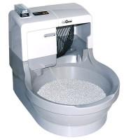 Robotická kočičí toaleta CatGenie 120+ bez poklopu