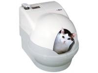 Robotická kočičí toaleta CatGenie 120+ s poklopem
