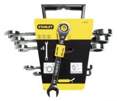 Sada ráčnových kloubových klíčů STANLEY 4-89-907