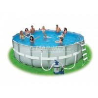 Bazén Ohio 4,88 x 1,22 m s pískovou filtrací + příslušenství