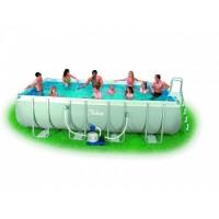 Bazén Tahiti 2,74 x 5,49 x 1,32 m s pískovou filtrací + příslušenství