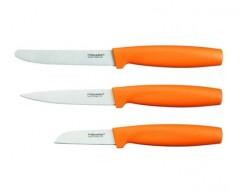 FISKARS Sada malých nožů FISKARS FF 3 ks, oranžové