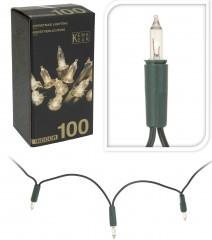 Světla vánoční 100 žárovek čiré vnitřní 4261928