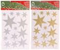 Nálepky na okno vánoční hvězdy 4261936