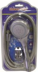 Sprcha 3 funkce + hadice 1,5 m + držák nerez+plast 3140352