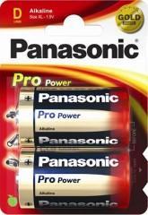 Baterie velké mono alkalická Panasonic 1710011