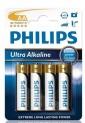 Baterie tužková alkalická Philips - Extremelife blistr 1710023