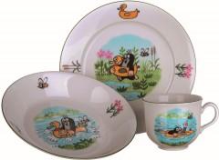 Souprava dětská 3 díly Krtek porcelán 4052856