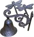 Zvonek domovní vážky litina 195x145x95 mm 4020031