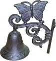 Zvonek domovní motýl litina 195x145x95 mm 4020032
