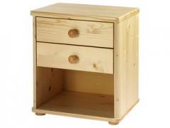 Noční stolek ROBIN 059 - 2 zásuvky