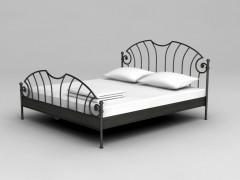 MARLENE ručně kovaná postel