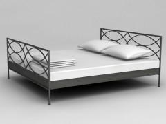 CREMONE 180 x 200 ručně kovaná postel