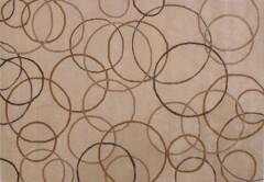 Vlněný koberec DESIGN Silk Rounds d-34, 200x300 cm