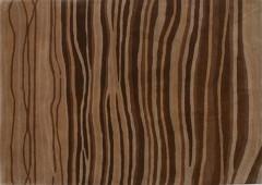 Vlněný koberec DESIGN Zebra d-22, 200x300 cm