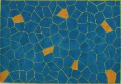 Vlněný koberec DESIGN Stone d-04, 200x300 cm