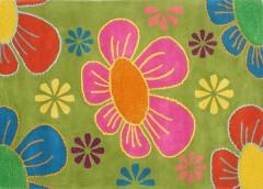 Vlněný koberec DESIGN Happy Flowers d-08, 200x300 cm