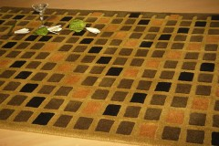 Vlněný koberec DESIGN Field d-12, 200x300 cm