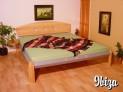 IBI-07 ZA kovová postel včetně matrace a roštu