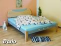 DA-07 RIO kovová postel včetně matrace a roštu