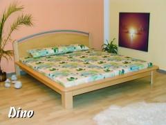 DINO dřevěná postel s kovovými prvky