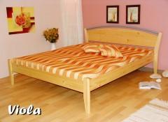 VIOLA dřevěná postel BUK