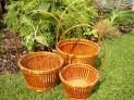 Bambusový košík set 3 ks