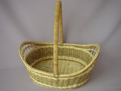 Košík s uchem ratan mořské řasy