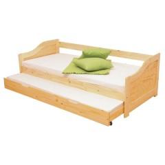 LAURA postel s výsuvnou přistýlkou