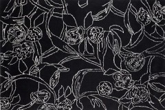 Vlněný koberec Savanna BLACK, 140 x 200 cm