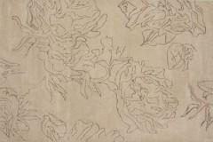 Vlněný koberec Savanna BROWN, 140 x 200 cm