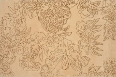 Vlněný koberec Savanna GOLD, 140 x 200 cm