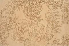 Vlněný koberec Savanna GOLD, 170 x 240 cm