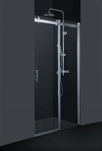 Sprchové dveře do niky BELVER 140 x 195 cm