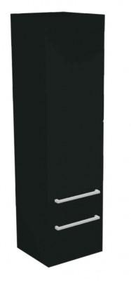 Skříňka vysoká TANGO černá vysoký lesk
