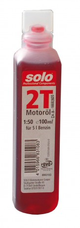 motorový olej do 2taktních motorů SOLO Profi 2T 100 ml