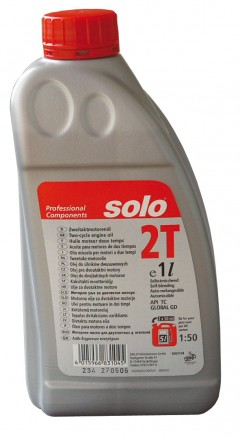 motorový olej do 2taktních motorů SOLO Profi 2T 1 l