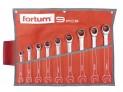Sada ráčnových očkoplochých kľúčov Fortum 9 ks