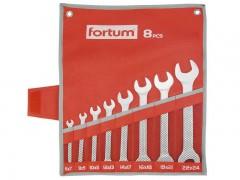 Sada plochých klíčů Fortum 8 ks