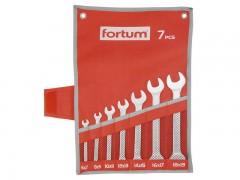 Sada plochých klíčů Fortum 7 ks