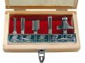 Frézy tvarové do dreva s SK plátkami 5 ks