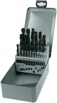 Sada vrtáků do kovu HSS-R Narex 25 dílů