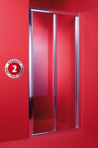 Dveře do sprchového koutu CORDOBA 80 x 195 cm, sklo čiré