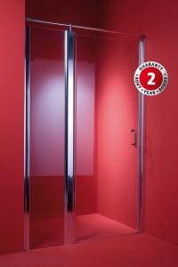 Dveře do sprchového koutu ALTEA 130 x 185 cm, sklo čiré