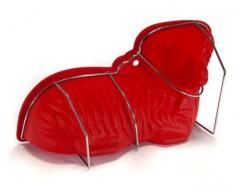 BANQUET Forma beránek silikonová CULINARIA Red 31,5 x 15,8 x 9,5 cm