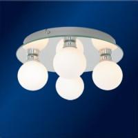 Koupelnové svítidlo Top Light Globe 4 průměr 25 cm v. 13 cm