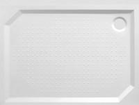 Sprchová vanička PLOVDIV II 120 x 90 x 4 cm litý mramor